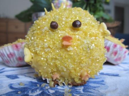 Küken Muffins