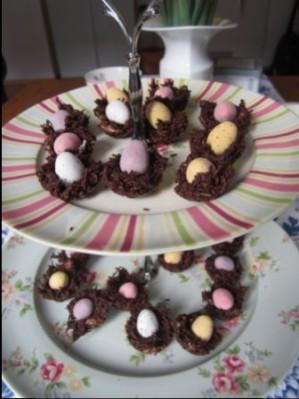 Oster Schokoladen Nester