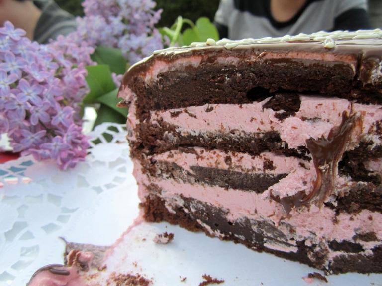 Mainbacken Himbeer Brownie Torte (91)