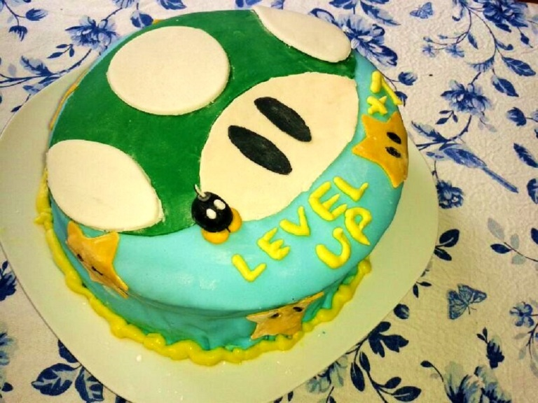 Marshmallow Fondant Nintendo Level up