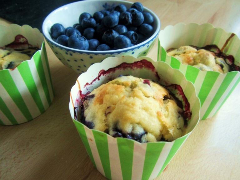 Blueberry Muffins Blaubeer (4)