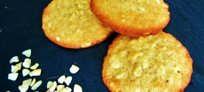Cashew-Zitrone Cookies mitStar-Allüren
