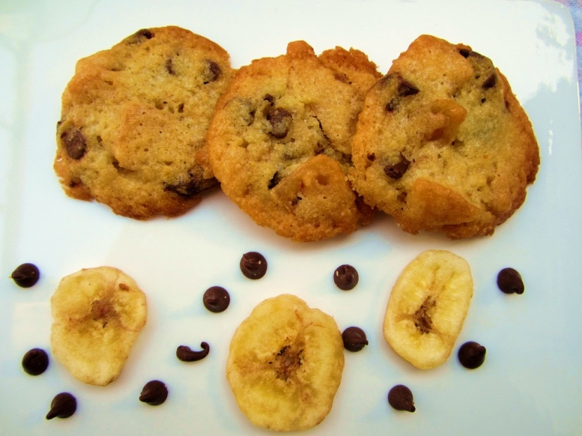 Banana Chocolate Fusion Cookies