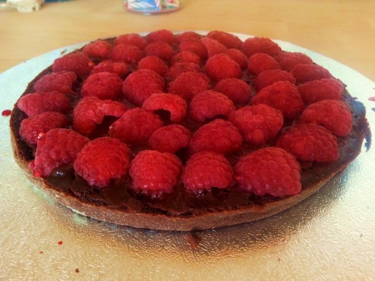 Mainbacken Himbeer Mokka Torte (10)