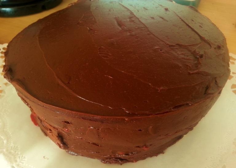 Mainbacken Himbeer Mokka Torte (12)