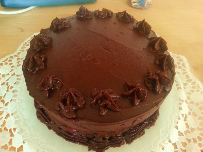 Mainbacken Himbeer Mokka Torte (13)