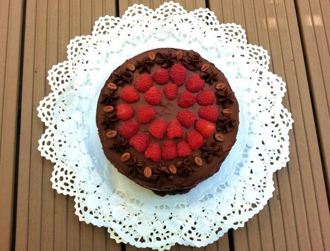 Mainbacken Himbeer Mokka Torte (3)