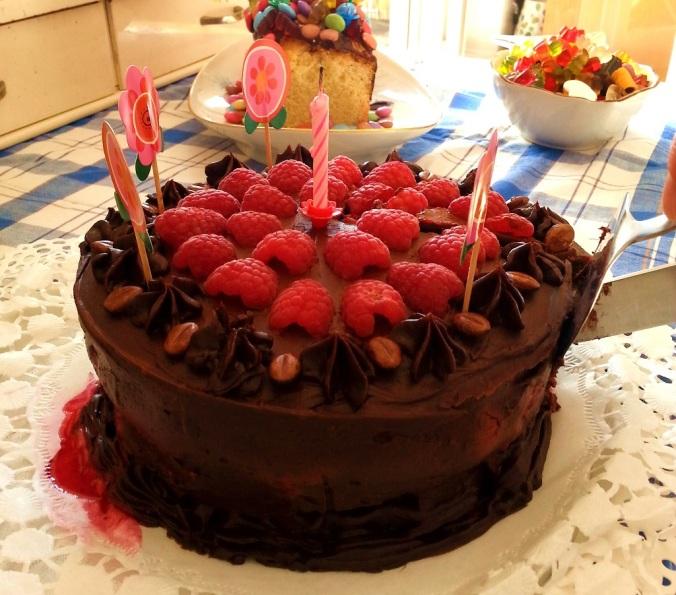 Mainbacken Himbeer Mokka Torte (4)