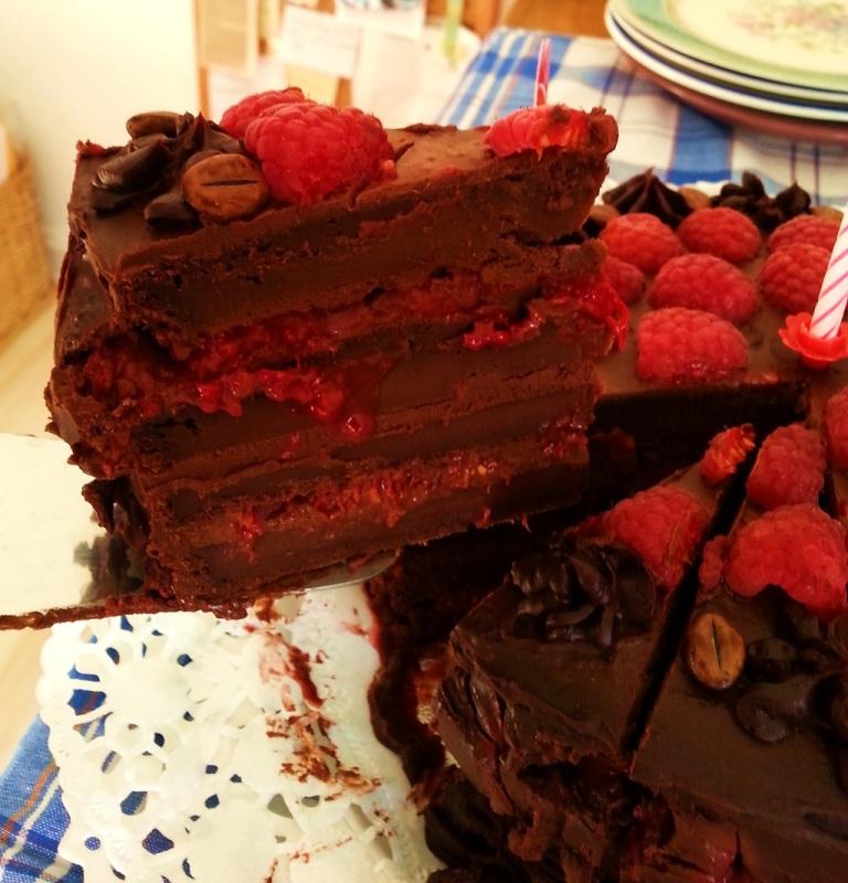 Mainbacken Himbeer Mokka Torte (5)