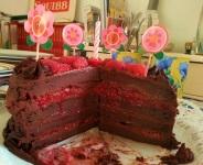 Mainbacken Himbeer Mokka Torte (6)