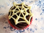 Spinnennetz Cupcakes