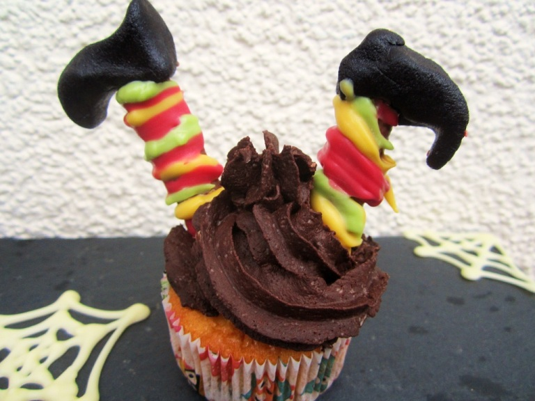 Halloweencupcake Hexe (4)