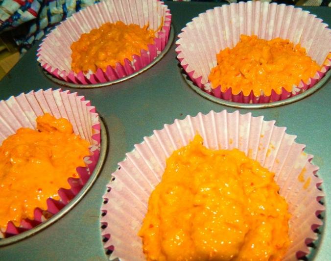 Kürbis Cupcakes (3)