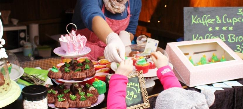 MainBacken auf demWeihnachtsmarkt