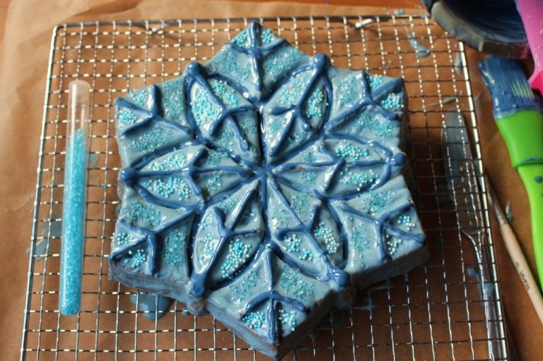 Frozen Cake Elsa (20)