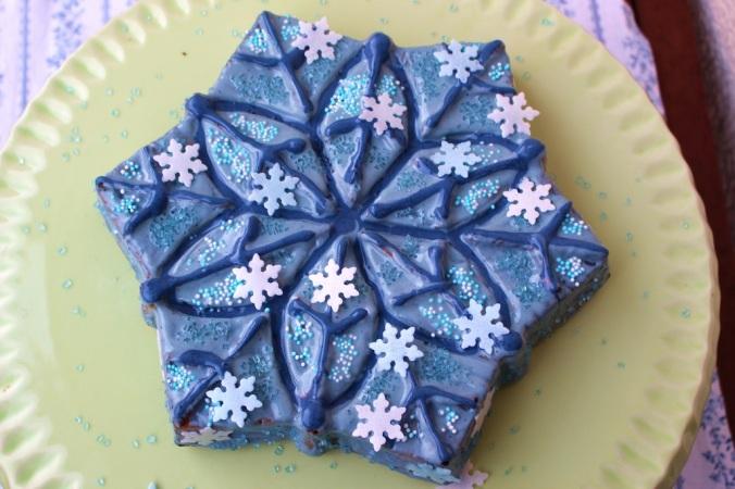 Frozen Cake Elsa (21)