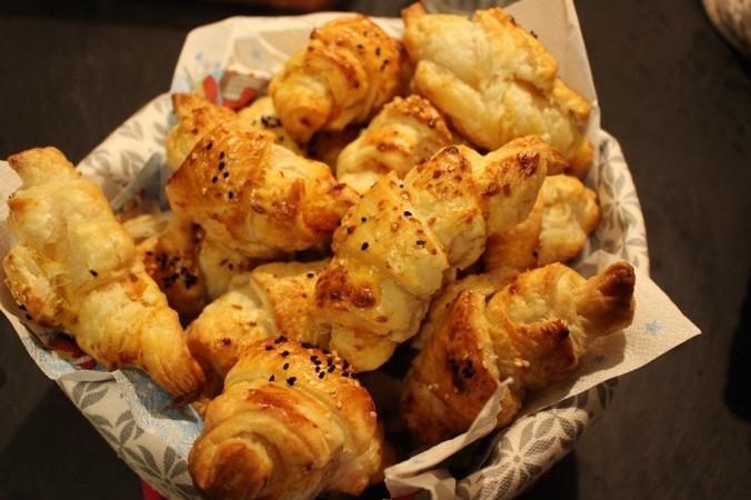 Käse-Tomaten Croissants (1)