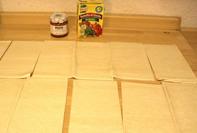 Käse-Tomaten Croissants (2)