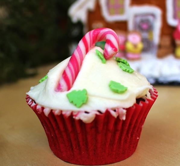 Haselnuss-Cupcakes mit Frischkäsecreme
