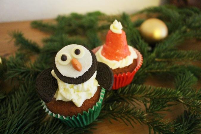 Oreo Pinguin Cupcake (1)