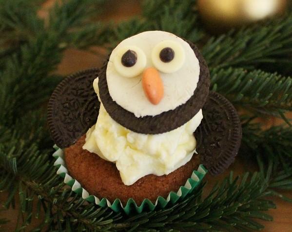 Pinguin-Cupcakes