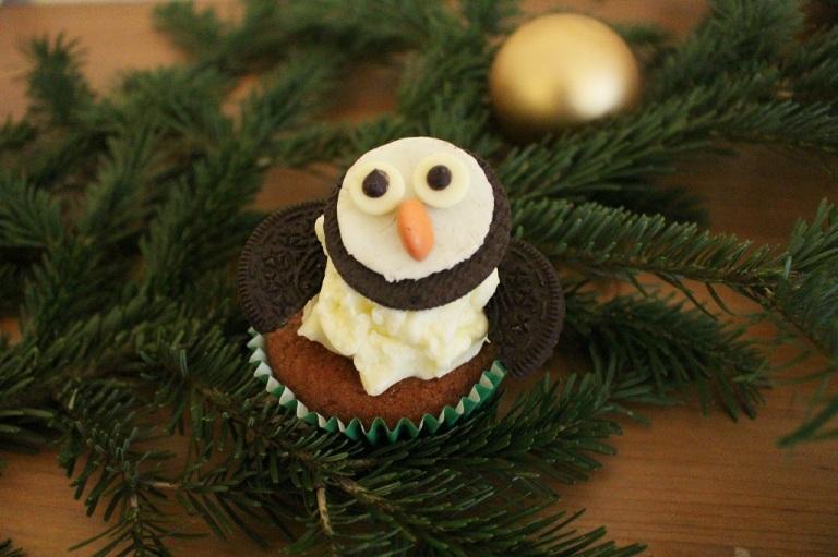Oreo Pinguin Cupcake (2)
