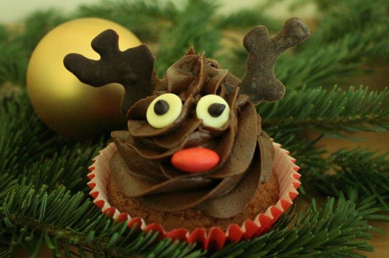 Rentier Cupcake Rendeer (7)