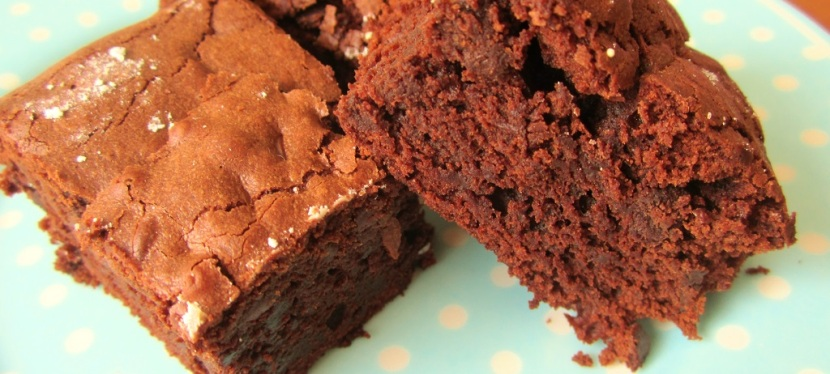 Schokoladige, saftige Brownies