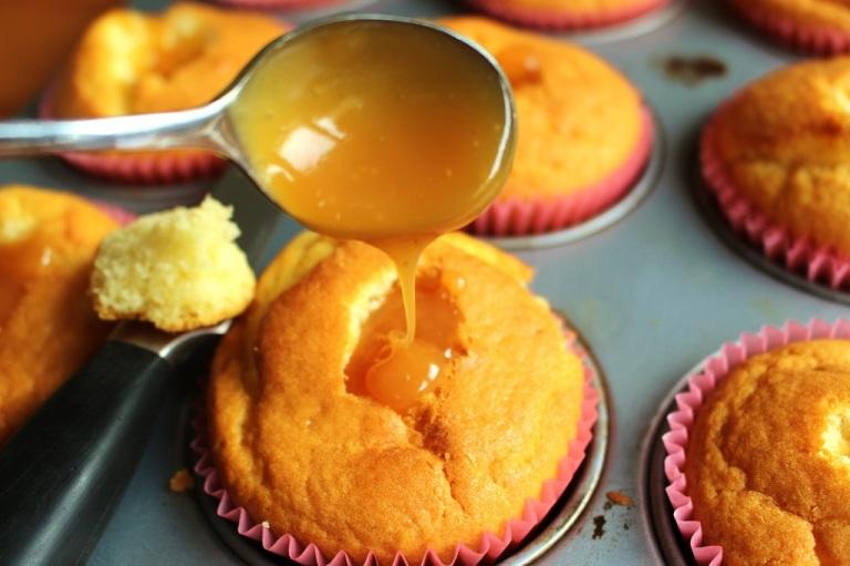 Muffins mit salzigem Karamell (3)