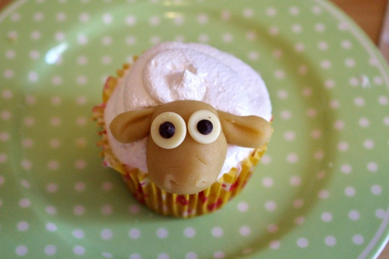 Schaf Sheep Cupcake (33)