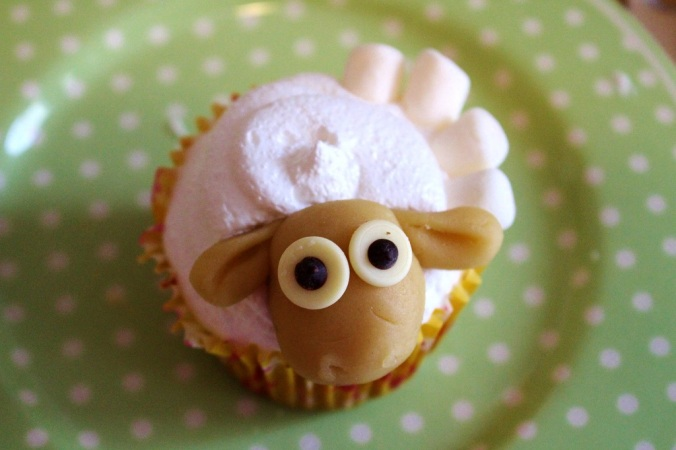 Schaf Sheep Cupcake (34)