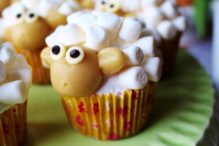 Schaf Sheep Cupcake (41)