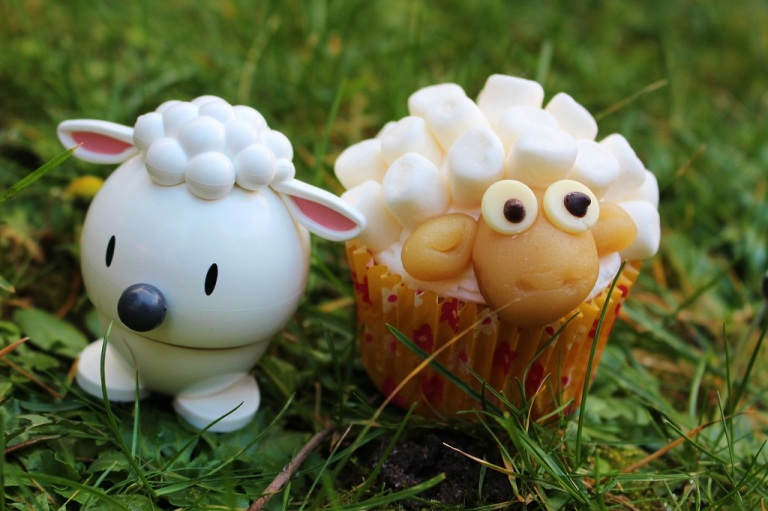 Schaf Sheep Cupcake (85)