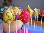 Cake Pop Eier mit Silikonform