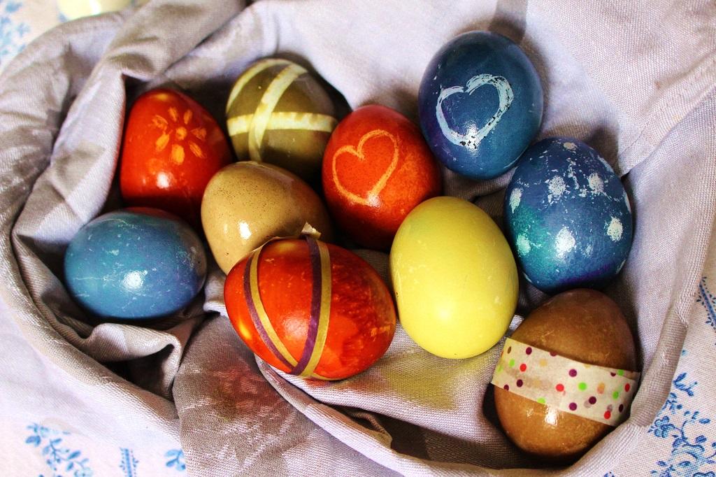 Eier natürlich färben (3)