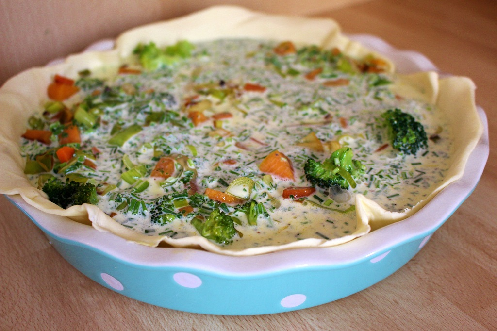 Gemüse Quiche (4)