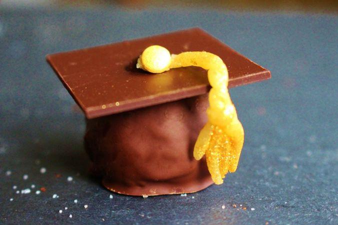 Graduation Hat Cake (5)
