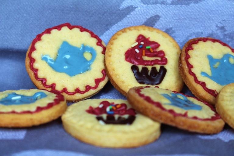 Stempel Kekse Rezept, das schnell geht und echt lecker ist.