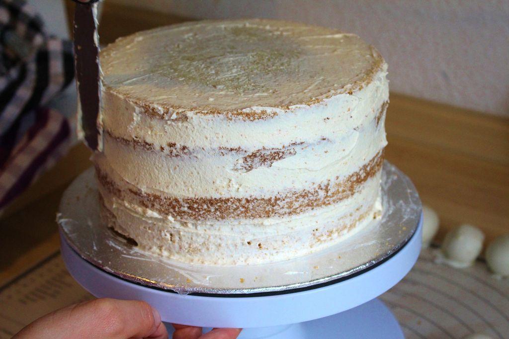 Edle Torte Mit Essbarer Spitze Mainbacken