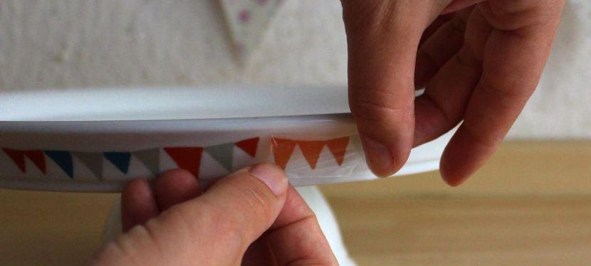 Tortenplatte verzieren – DIY(+Gewinnspiel)
