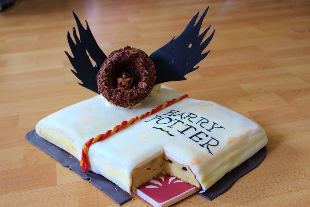 Harry Potter Kuchen Mainbacken