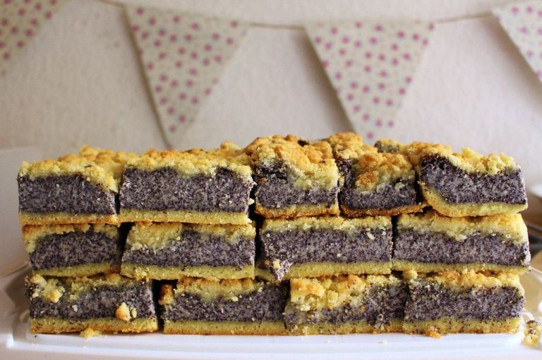 Mohnkuchen mit Gries (2)