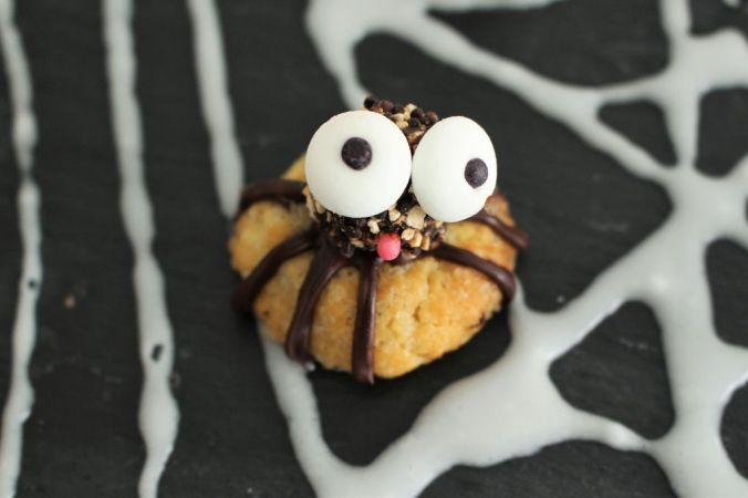 Spinnencookies - super Snack für Halloween