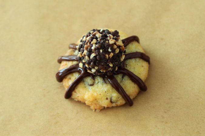 Ich habe dunkle Giottos als Spinnenkörper verwendet.