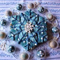Schneeflocken-Kuchen
