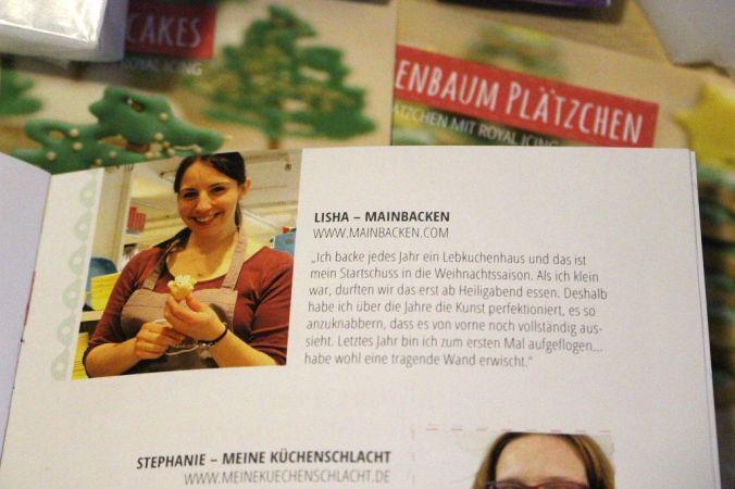 Ein bekanntes Gesicht: In der ersten Ausgabe haben verschiedene Blogger (wie auch ich) ihr Gesicht und ihre liebste Weihnachtstradition hergegeben.