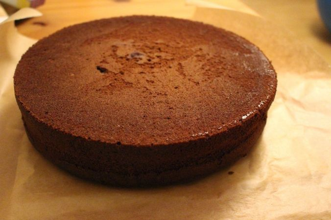 Perfekt! Der Glühwein-Kuchen exakt nach Anleitung könnte aus dem Bilderbuch sein.