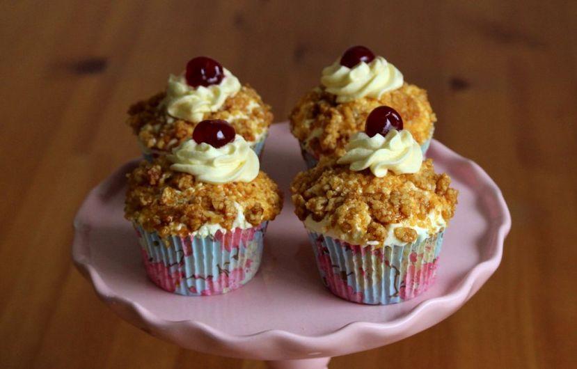 Frankfurter Kranz Cupcakes