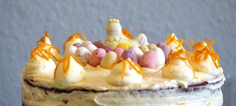 Schoko-Orangen Torte mit MascarponeCreme