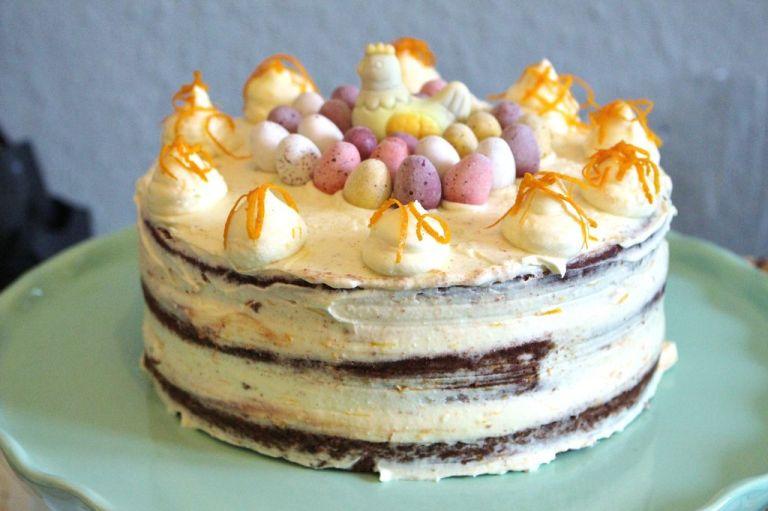 Schoko Orangen Torte Mit Mascarpone Creme Mainbacken